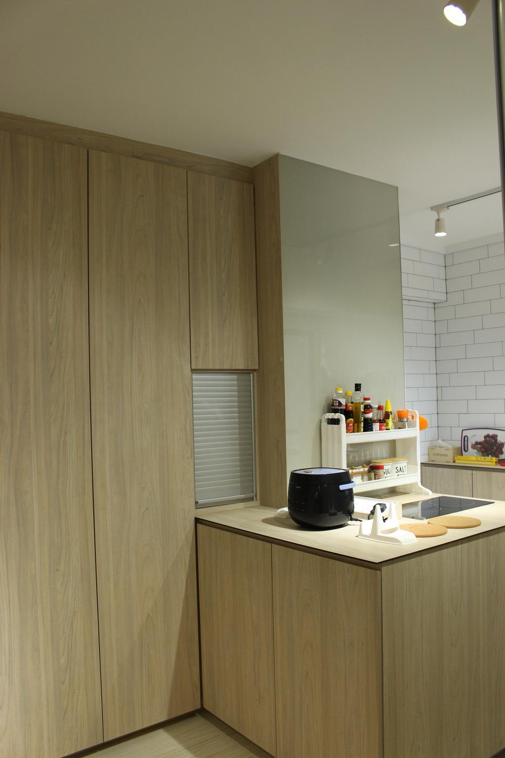 Scandinavian, HDB, Kitchen, Mcnair Road (Block 111), Interior Designer, Ingenious Design Solutions