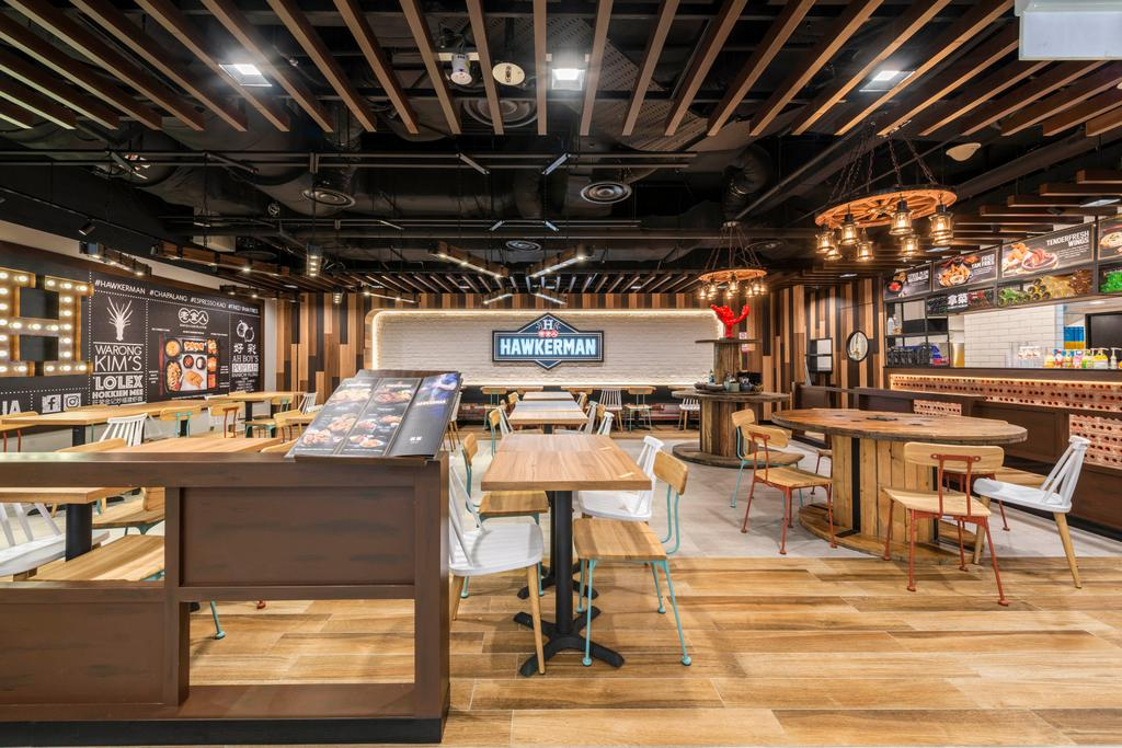 Hawkerman, Commercial, Interior Designer, Flo Design, Dining Table, Furniture, Table