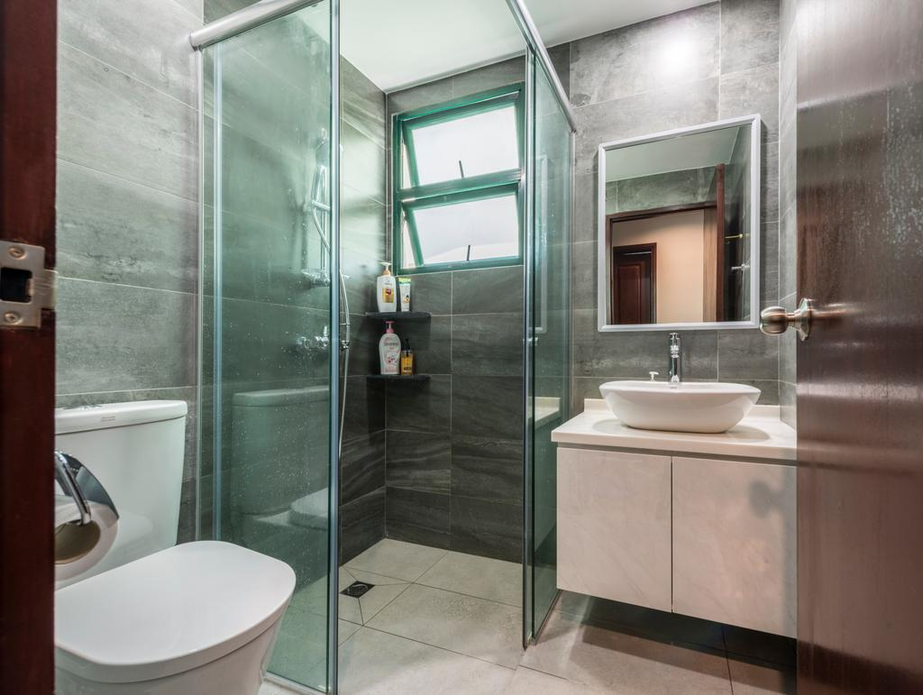Condo, Bathroom, Hillview Green, Interior Designer, D Initial Concept, Indoors, Interior Design, Room