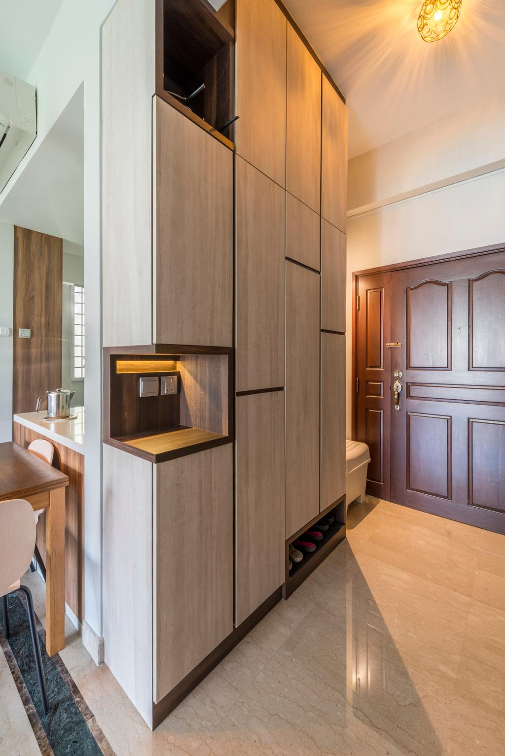 Condo, Hillview Green, Interior Designer, D Initial Concept, Sink, Appliance, Electrical Device, Oven, Indoors, Interior Design, Kitchen, Room, Furniture, Sideboard