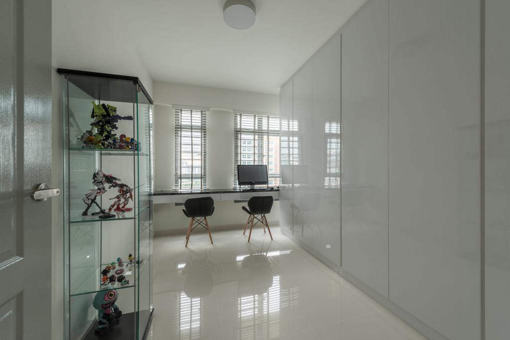Modern, HDB, Study, Edgedale Plains (Block 682A), Interior Designer, ID Gallery Interior, Vintage