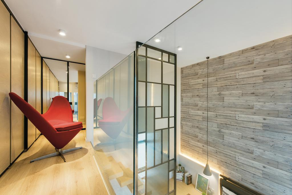 摩登, 私家樓, 九龍西, 室內設計師, 畫斯室內設計, 工業, Chair, Furniture, Indoors, Interior Design
