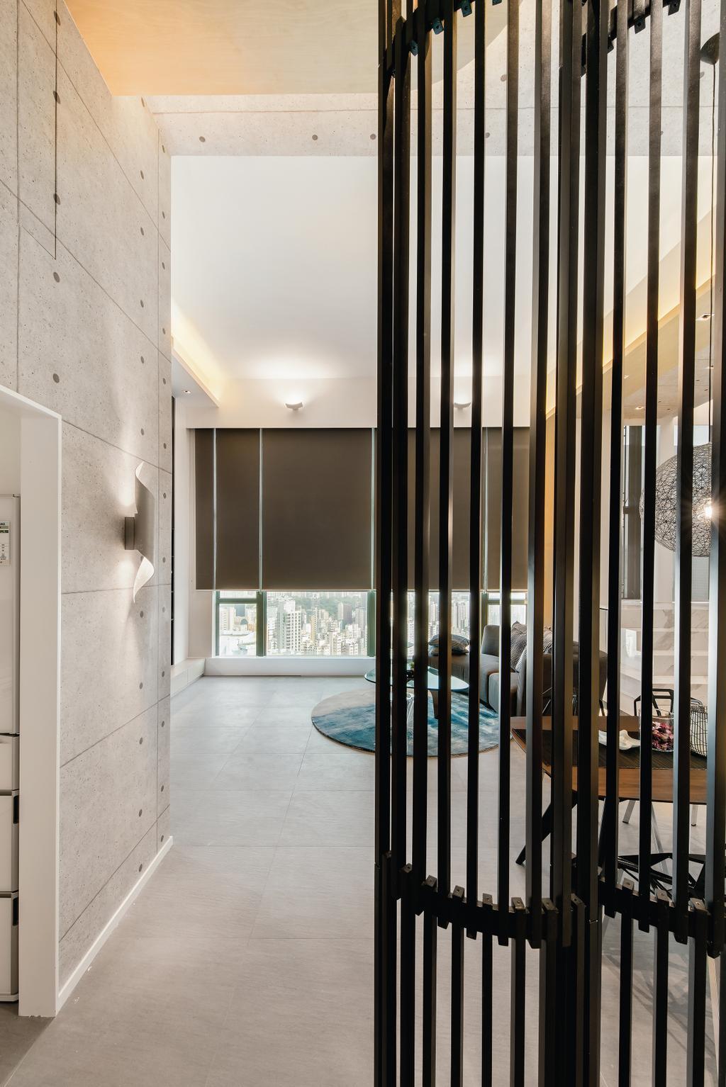 摩登, 私家樓, 九龍西, 室內設計師, 畫斯室內設計, 工業, Door, Folding Door