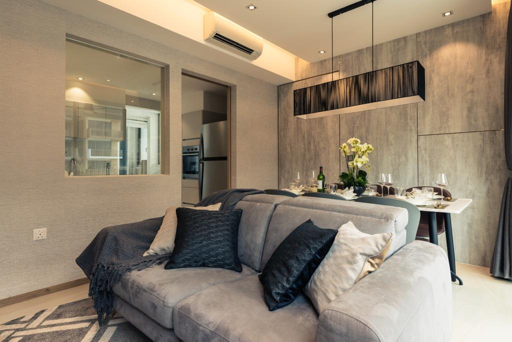Contemporary, Condo, Living Room, The Vales, Interior Designer, Mr Shopper Studio, Home Decor, Linen