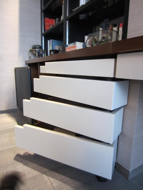 當代, 私家樓, 薈萃苑, 室內設計師, 駟達建築設計, Shelf, Drawer, Furniture