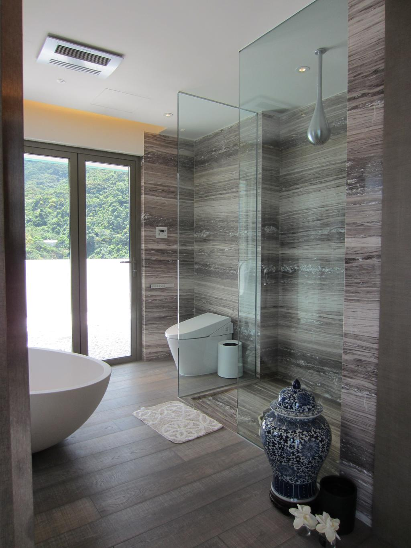 當代, 私家樓, 薈萃苑, 室內設計師, 駟達建築設計, 浴室, Indoors, Interior Design, Room, Window