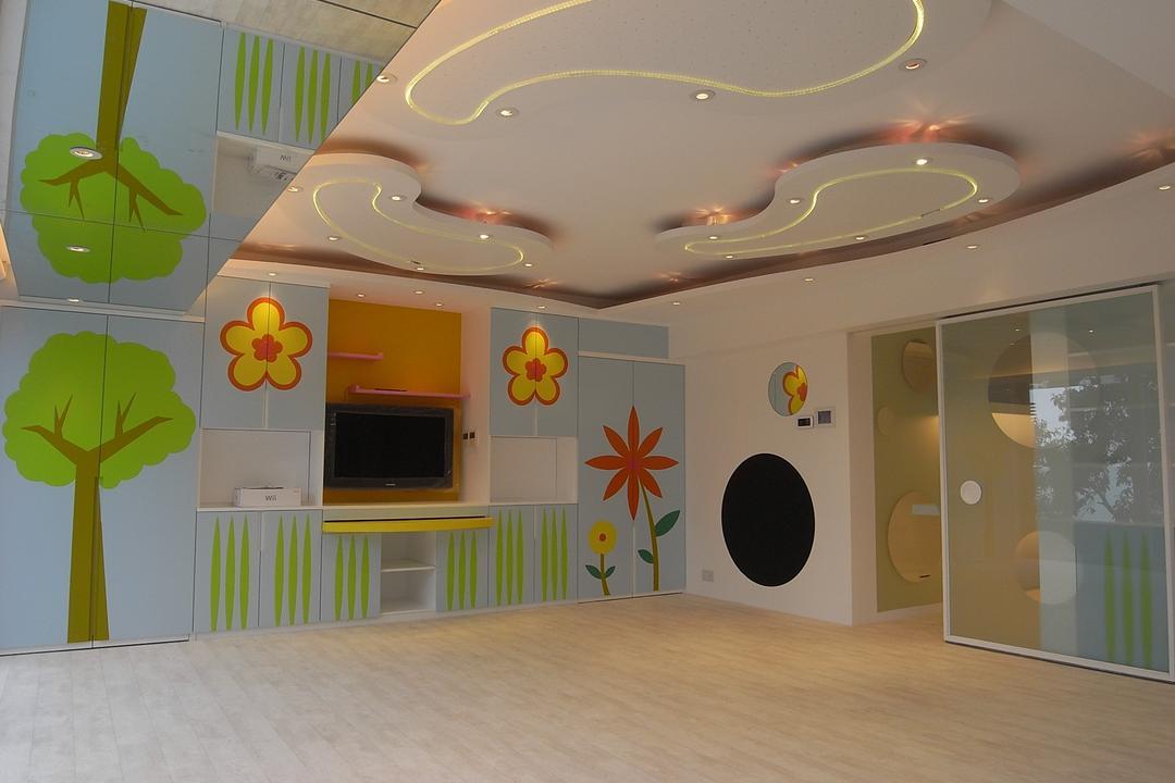 和福道, 駟達建築設計, 當代, 獨立屋, Indoors, Nursery, Room