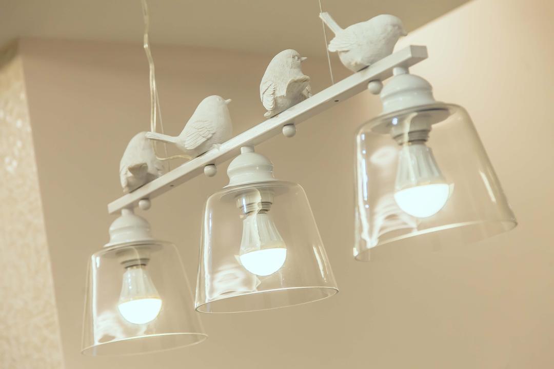 Oasis, Zeng Interior Design Space, Vintage, Condo, Hanging Lamp, Pendant Lamp, Cute, Lights, Lighting, Light Fixture