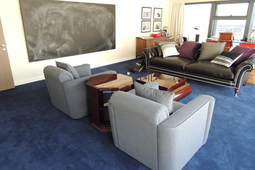 海濱道163號, 駟達建築設計, 當代, 商用, Couch, Furniture, Blackboard