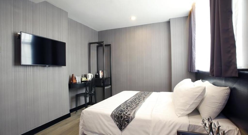 M1酒店北角, 商用, 室內設計師, 駟達建築設計, 當代, Furniture, Reception, Indoors, Room, 睡房, Interior Design, 廚房