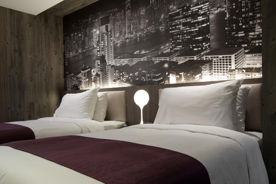 紫珀酒店, 駟達建築設計, 當代, 商用, Building, City, High Rise, Town, Urban, Bed, Furniture, Indoors, Room