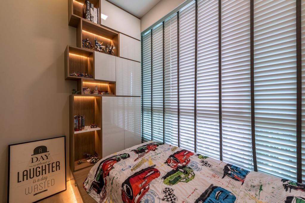 Condo, Tree House, Interior Designer, Flo Design, Bedroom, Indoors, Interior Design, Room