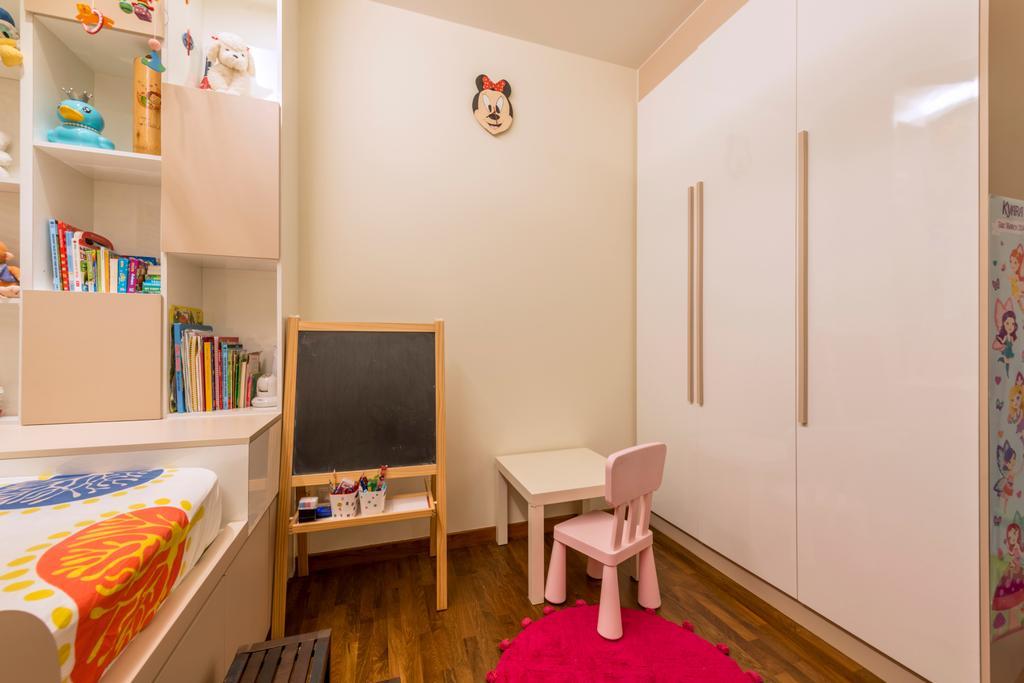 Modern, Condo, Bedroom, Casa Merah, Interior Designer, Mesh Room Design, Contemporary, Indoors, Nursery, Room, Chair, Furniture