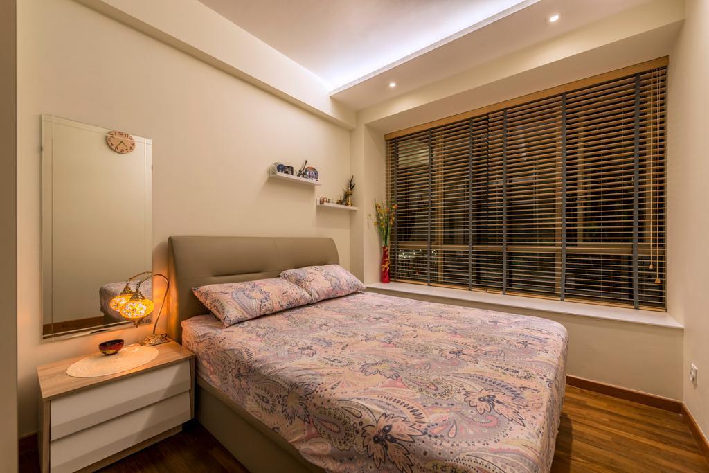 Modern, Condo, Casa Merah, Interior Designer, Mesh Room Design, Contemporary, Bedroom, Indoors, Interior Design, Room