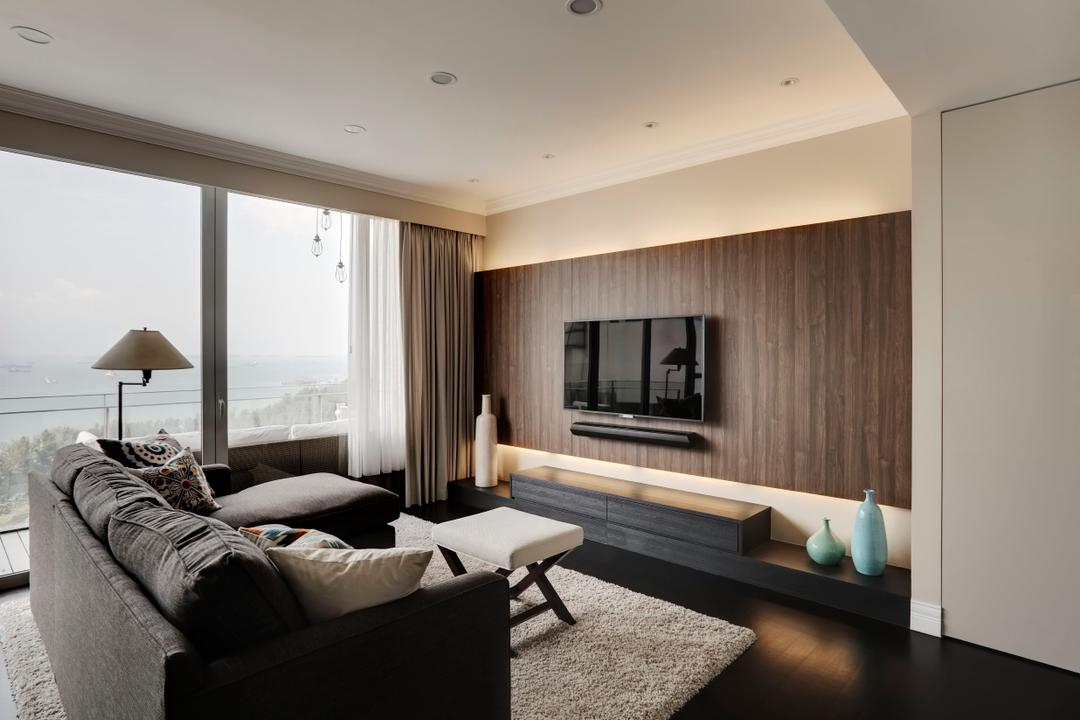 Wood Feature Wall Interior Design Singapore Interior