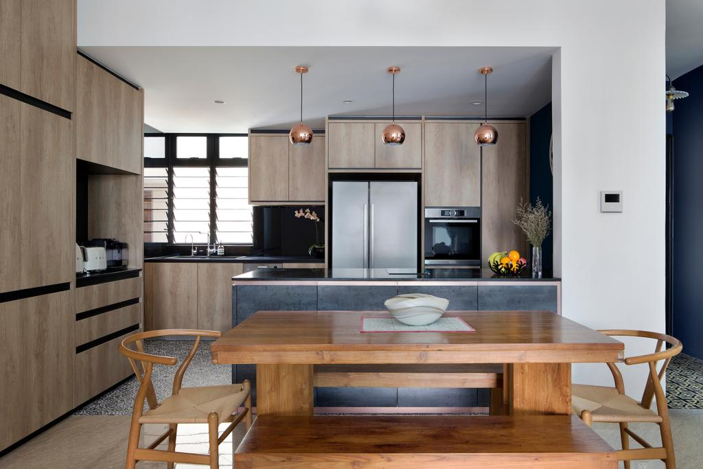 Eclectic, Condo, Kitchen, Spring Grove, Interior Designer, The Scientist, Dining Table, Furniture, Table, Chair, Dining Room, Indoors, Interior Design, Room