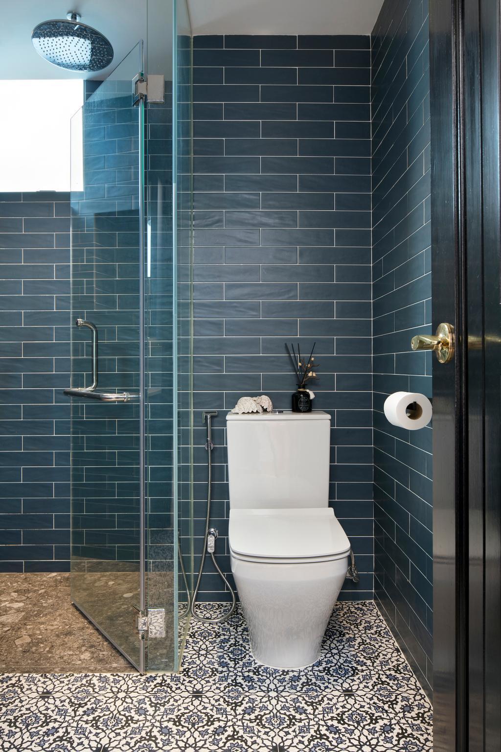 Eclectic, Condo, Spring Grove, Interior Designer, The Scientist, Bathroom, Indoors, Interior Design, Room, Toilet