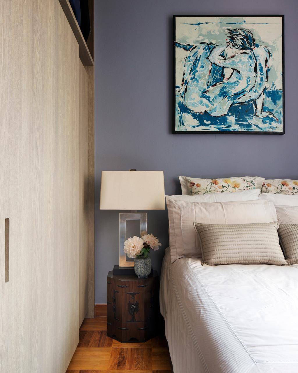 Eclectic, Condo, Bedroom, Spring Grove, Interior Designer, The Scientist, Flora, Jar, Plant, Potted Plant, Pottery, Vase, Indoors, Nursery, Room