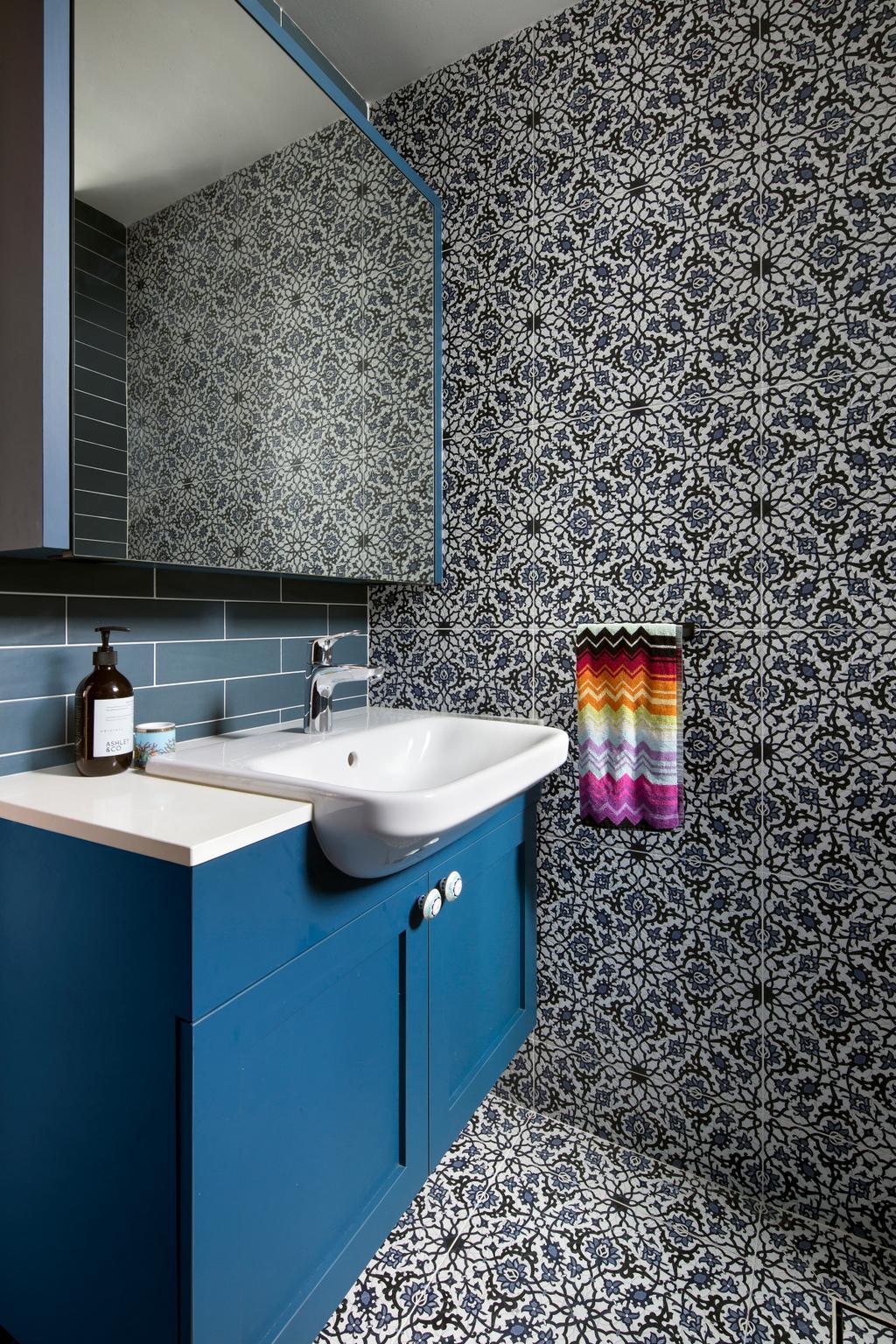 Eclectic, Condo, Bathroom, Spring Grove, Interior Designer, The Scientist, Sink, Indoors, Interior Design, Room