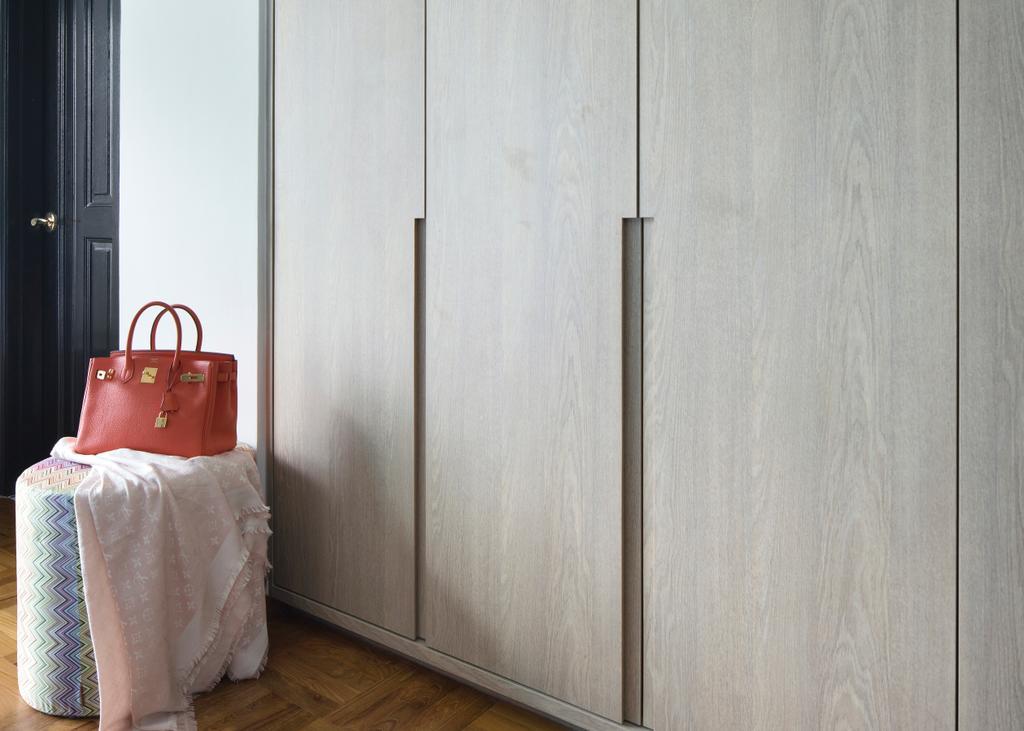 Eclectic, Condo, Bedroom, Spring Grove, Interior Designer, The Scientist, Bag