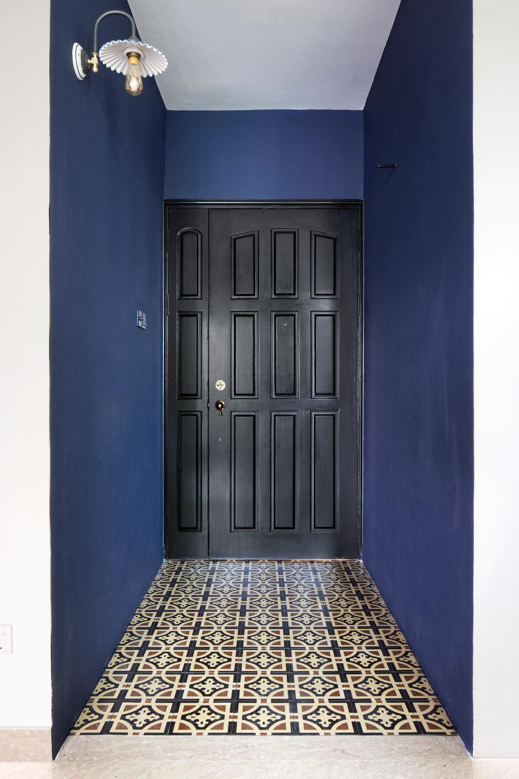 Eclectic, Condo, Spring Grove, Interior Designer, The Scientist, Door