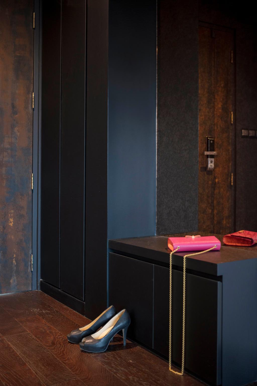 Eclectic, HDB, Chai Chee, Interior Designer, Aart Boxx Interior, Blackboard