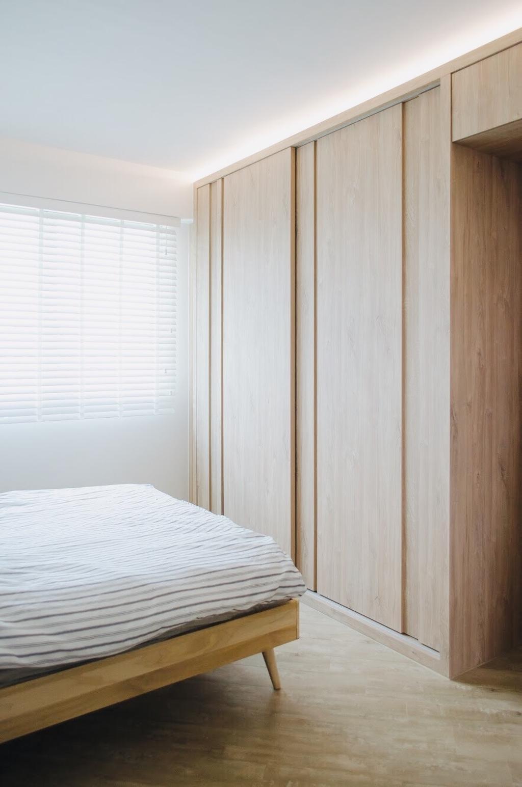 Scandinavian, HDB, Bedroom, Ang Mo Kio Street 44, Interior Designer, Authors • Interior & Styling