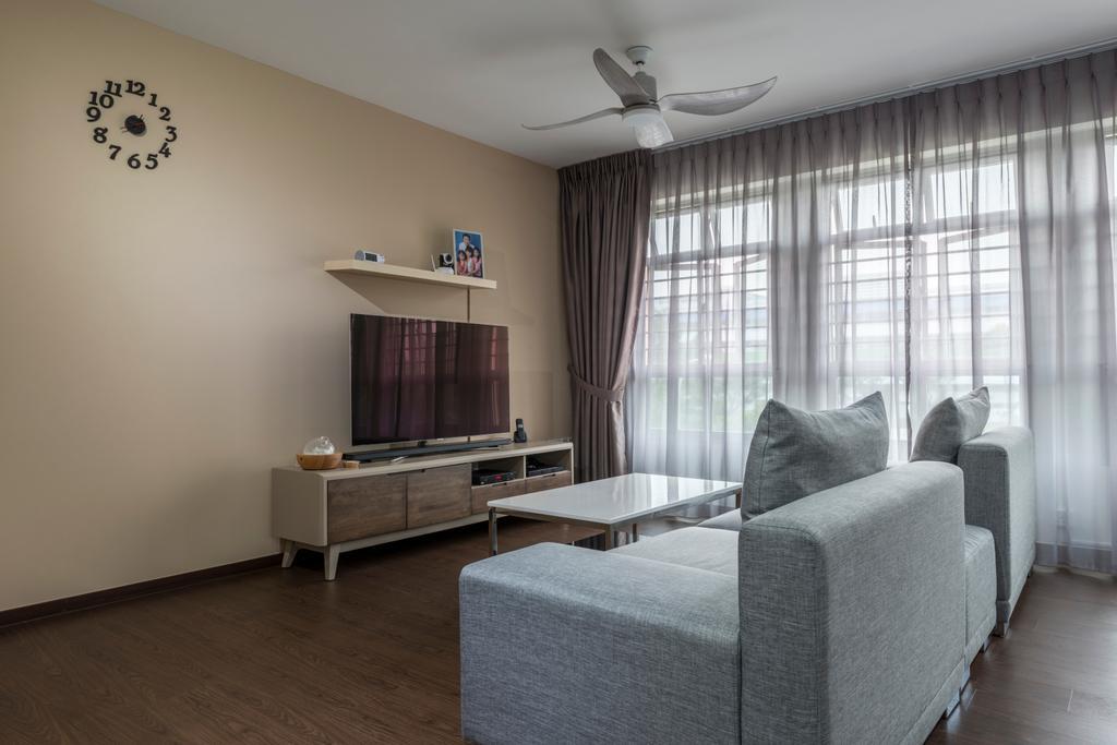 Contemporary, HDB, Living Room, Canberra Street, Interior Designer, DS 2000 Interior & Design, Indoors, Interior Design, Room