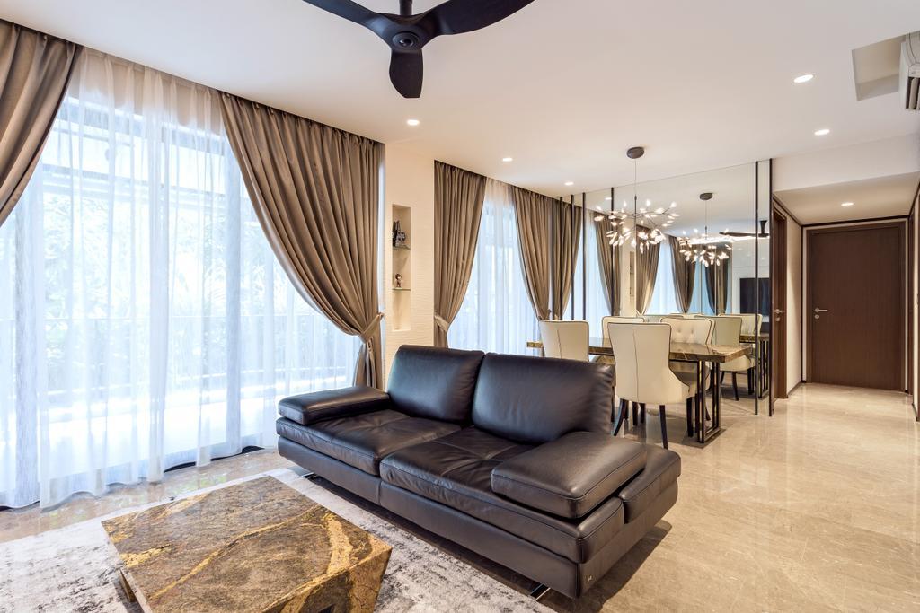 Modern, Condo, Living Room, River Isles, Interior Designer, Summerhaus D'zign, Furniture, Dining Table, Table, Indoors, Interior Design, Room, Dining Room