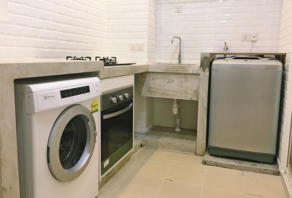Modern, Condo, Damansara Foresta, PJ, Interior Designer, DesignLah, Minimalistic, Appliance, Electrical Device, Washer