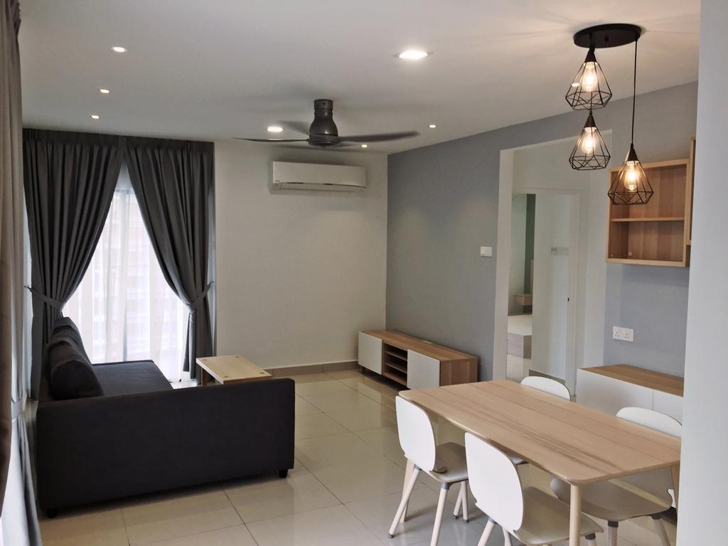 Contemporary, Condo, Maisson, Ara Damansara, Interior Designer, DesignLah, Dining Table, Furniture, Table, Indoors, Interior Design, Dining Room, Room