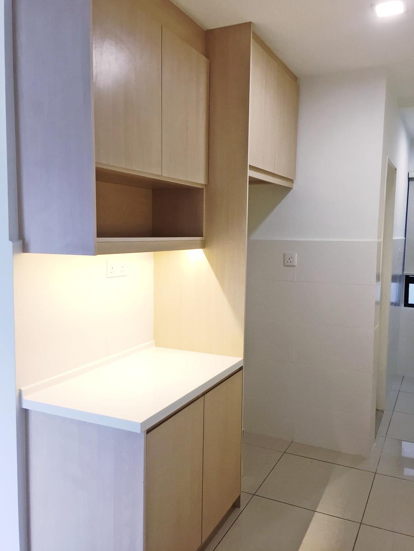 Contemporary, Condo, Maisson, Ara Damansara, Interior Designer, DesignLah, Shelf