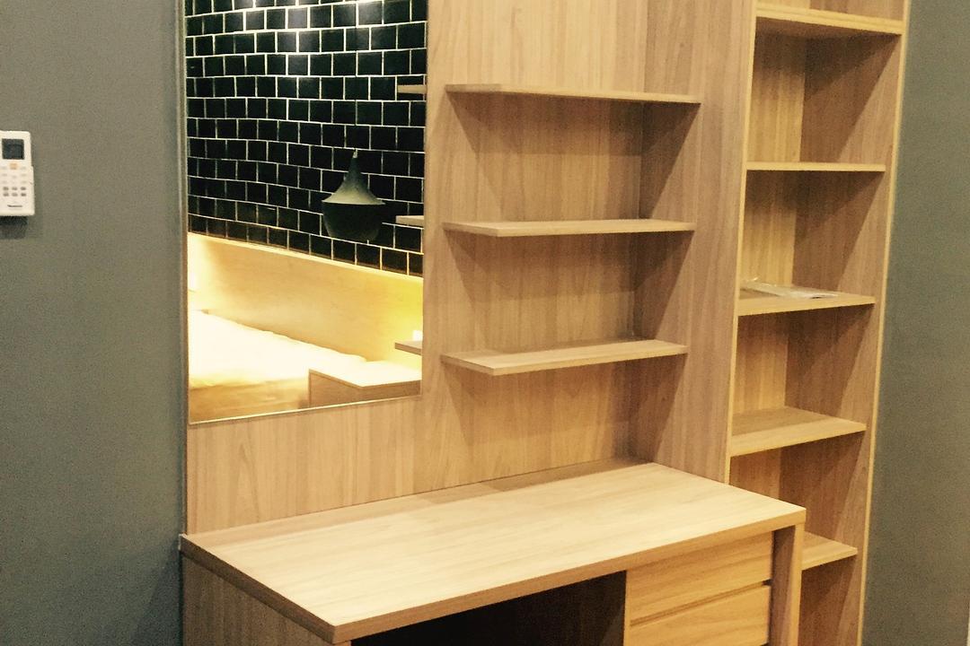 Desa Coalfields, Sg. Buloh, DesignLah, Modern, Contemporary, Landed, Bookcase, Furniture, Plywood, Wood