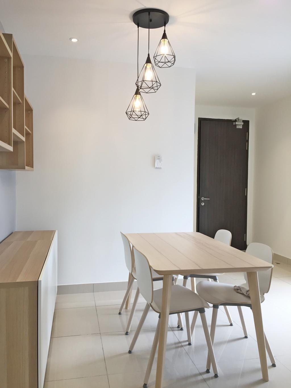 Contemporary, Condo, Maisson, Ara Damansara, Interior Designer, DesignLah, Chair, Furniture, Dining Room, Indoors, Interior Design, Room, Dining Table, Table, Plywood, Wood