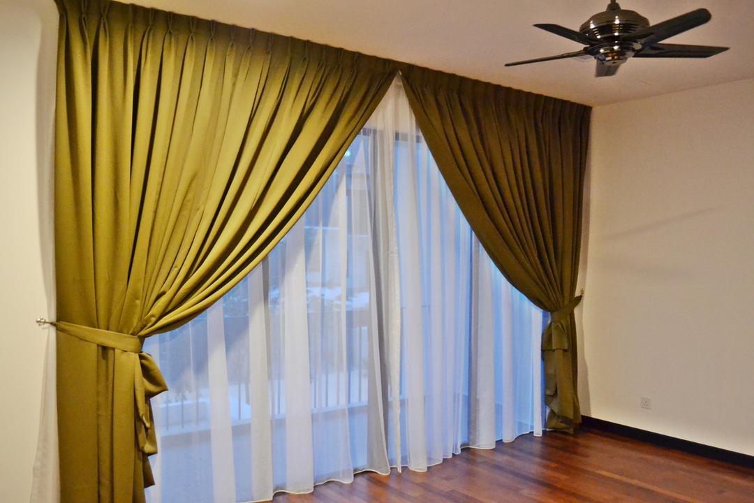 Setia Duta Villa, Shah Alam, DesignLah, Scandinavian, Contemporary, Landed, Curtain, Home Decor, Hardwood, Wood