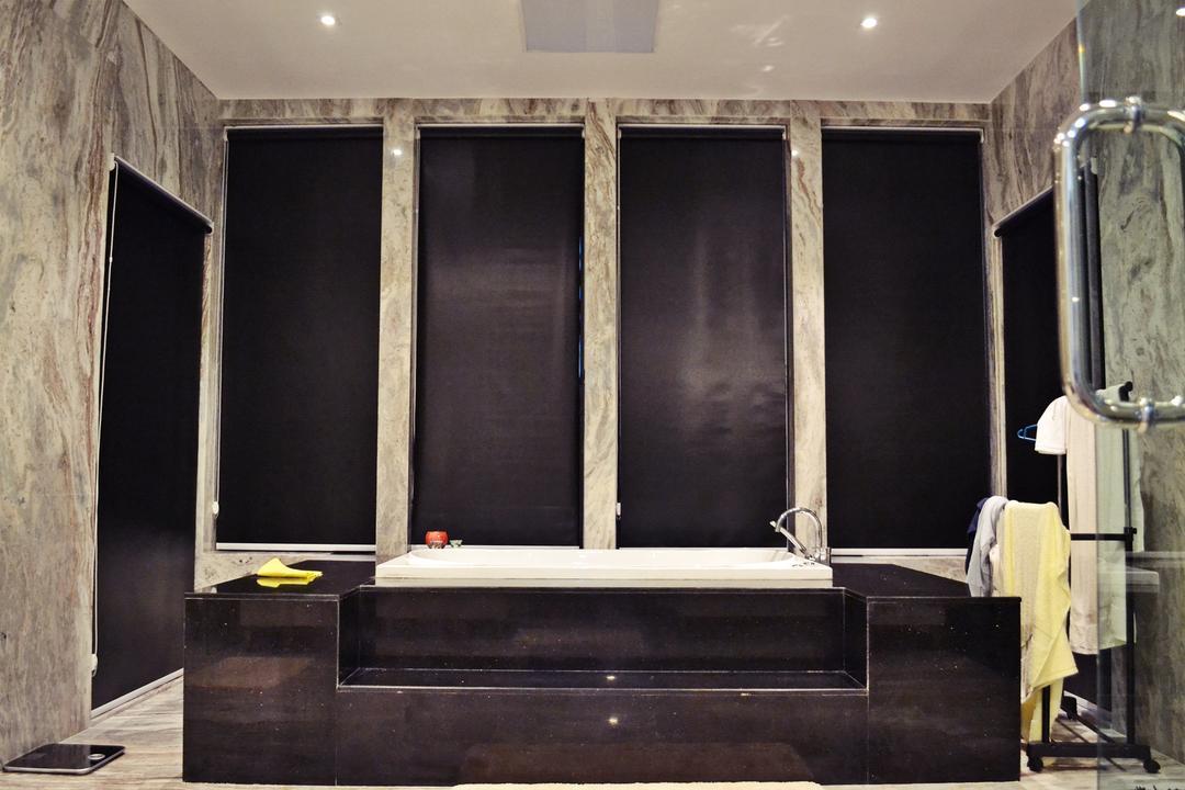 Setia Duta Villa, Shah Alam, DesignLah, Scandinavian, Contemporary, Landed, Blackboard, Indoors, Interior Design