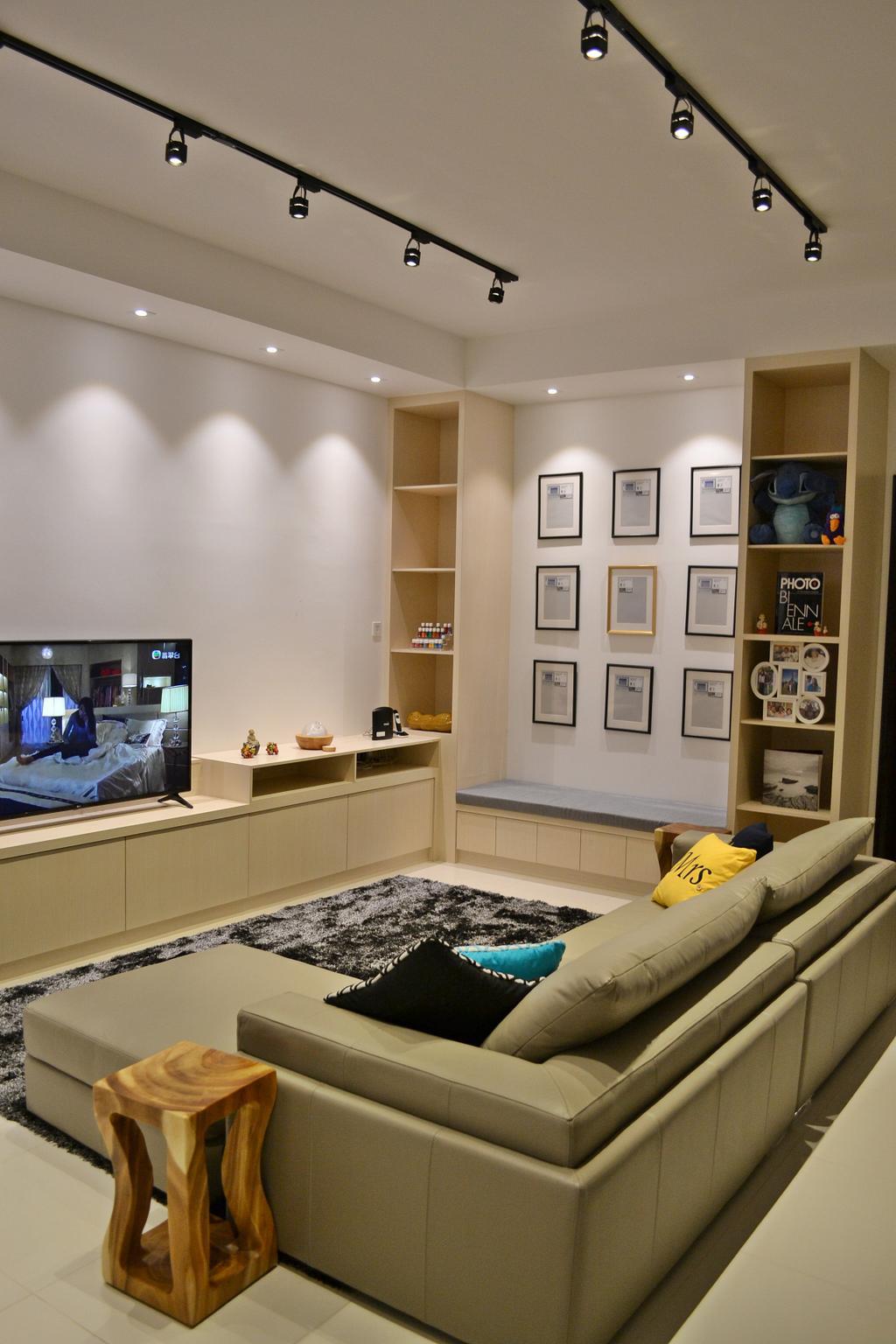 Scandinavian, Landed, Setia Duta Villa, Shah Alam, Interior Designer, DesignLah, Contemporary, Human, People, Person, Indoors, Interior Design, Apartment, Building, Housing