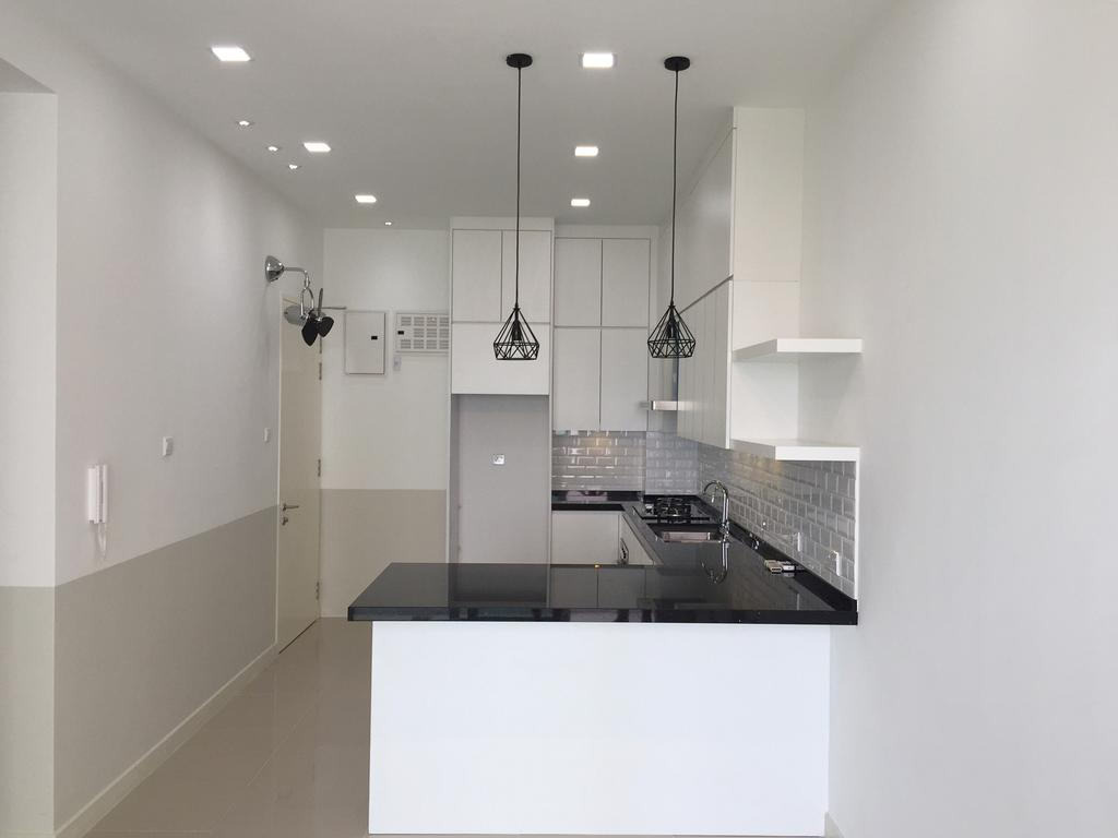 Minimalistic, Condo, Desa Green, KL, Interior Designer, DesignLah, Apartment, Building, Housing, Indoors, Loft