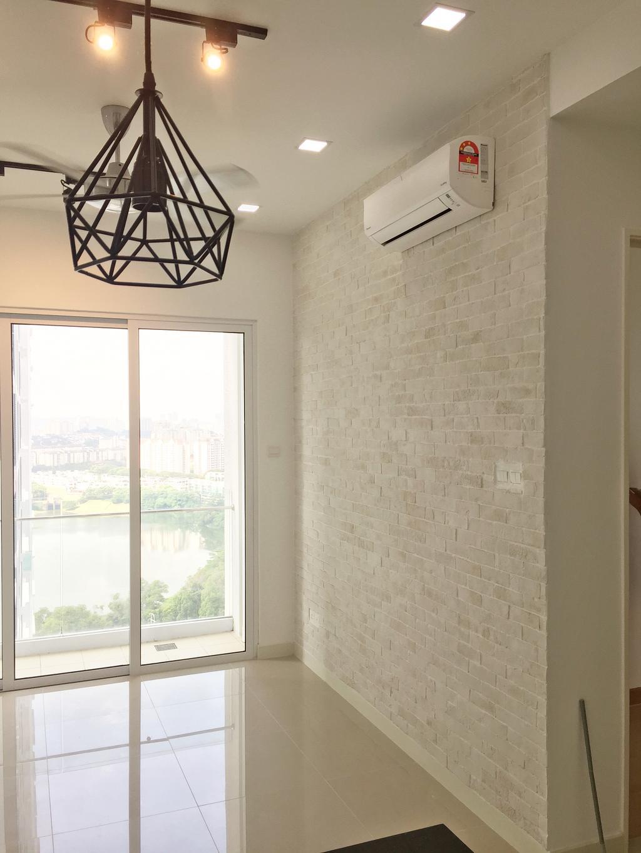 Minimalistic, Condo, Desa Green, KL, Interior Designer, DesignLah, Window