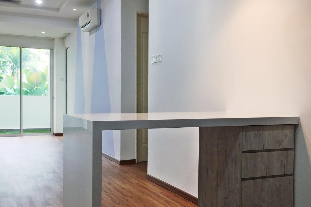 Parkhomes, Subang, DesignLah, Transitional, Minimalistic, Condo, Flooring, Furniture, Sideboard, Door, Sliding Door, Hardwood, Wood