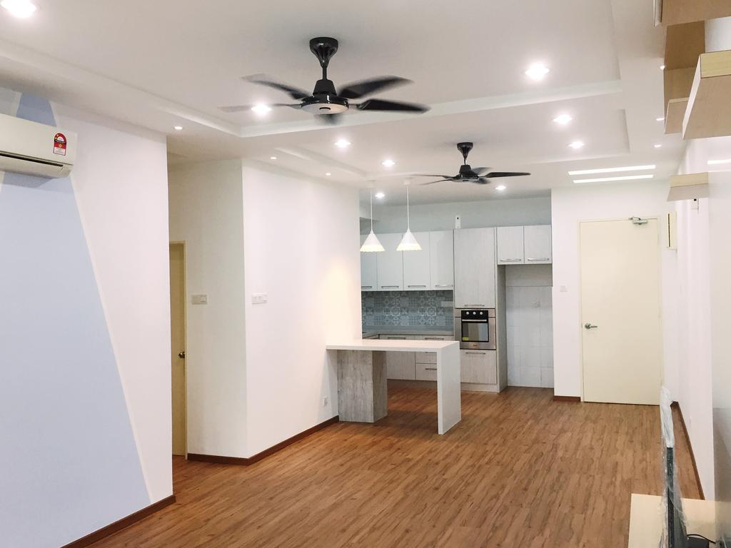 Transitional, Condo, Parkhomes, Subang, Interior Designer, DesignLah, Minimalistic, Apartment, Building, Housing, Indoors, Loft, Flooring