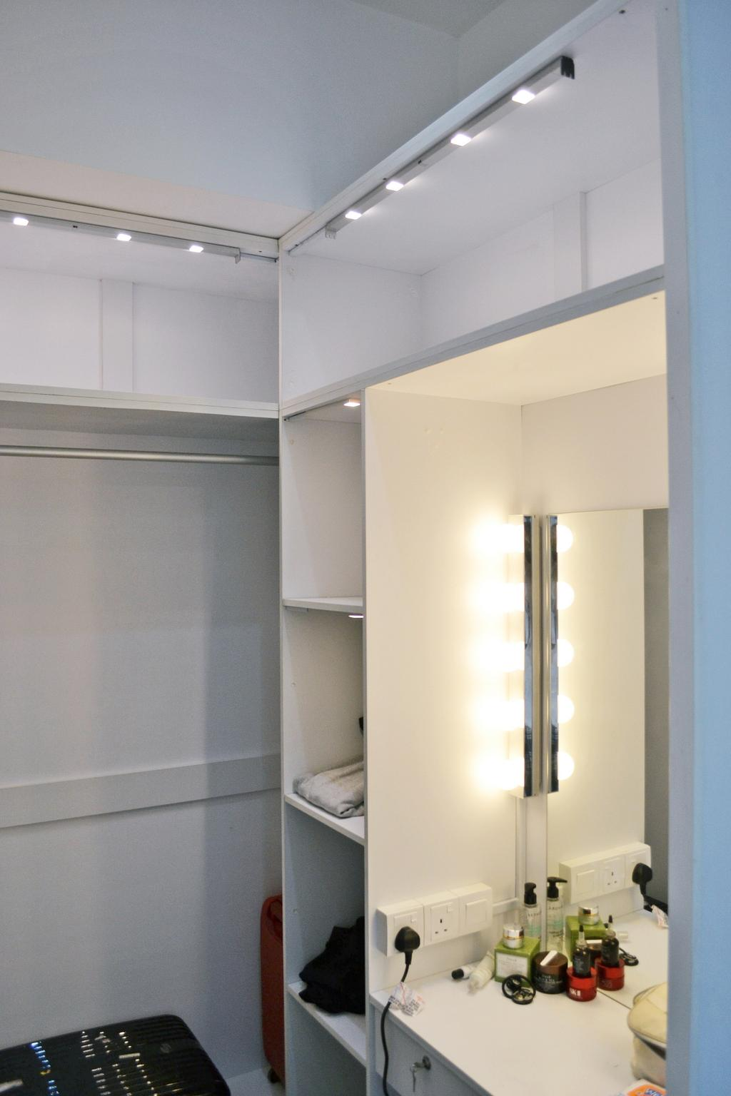 Contemporary, Condo, Twin Arks, Bukit Jalil, Interior Designer, DesignLah, Door, Sliding Door