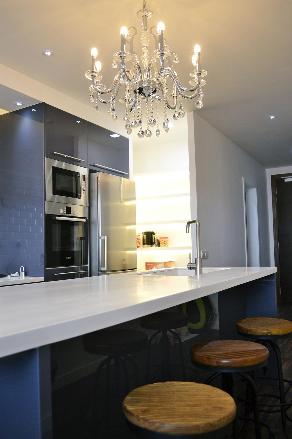 Contemporary, Condo, Twin Arks, Bukit Jalil, Interior Designer, DesignLah, Appliance, Electrical Device, Oven, Indoors, Interior Design