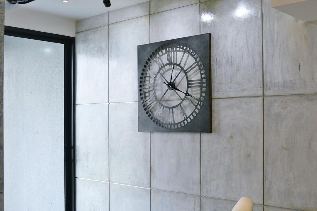 Twin Arks, Bukit Jalil, DesignLah, Contemporary, Condo, Tile, Clock