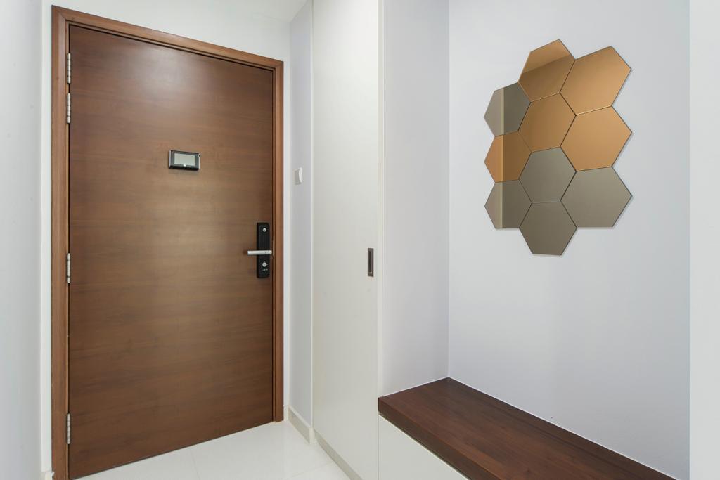 Minimalistic, Condo, The Esparis, Interior Designer, Cozy Ideas Interior Design, Indoors, Interior Design