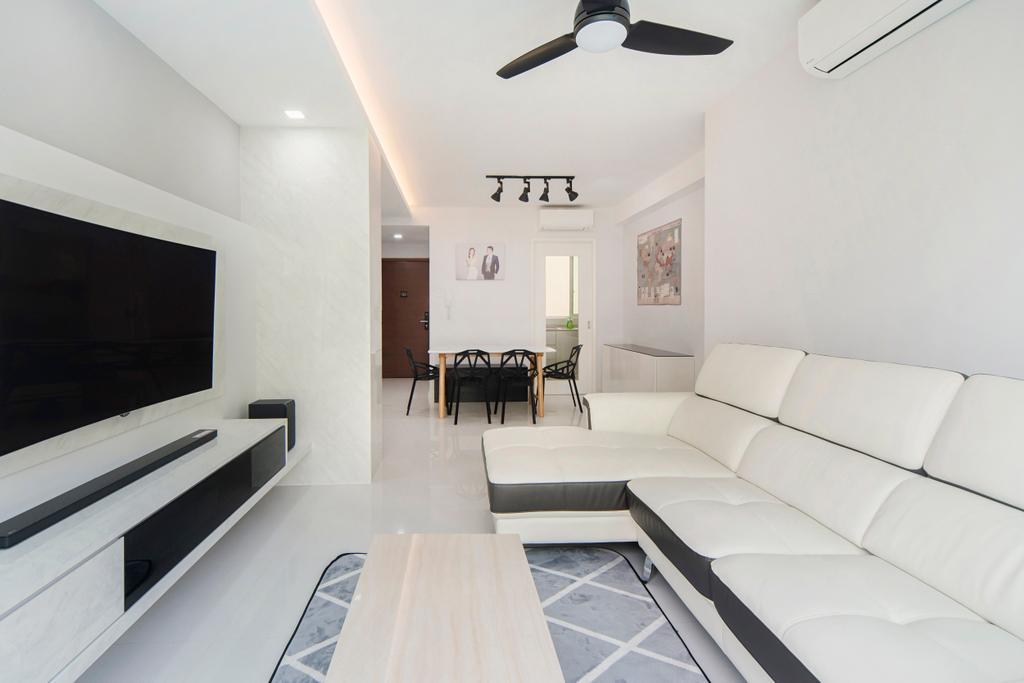 Minimalistic, Condo, Living Room, The Esparis, Interior Designer, Cozy Ideas Interior Design, Dining Table, Furniture, Table, Indoors, Room