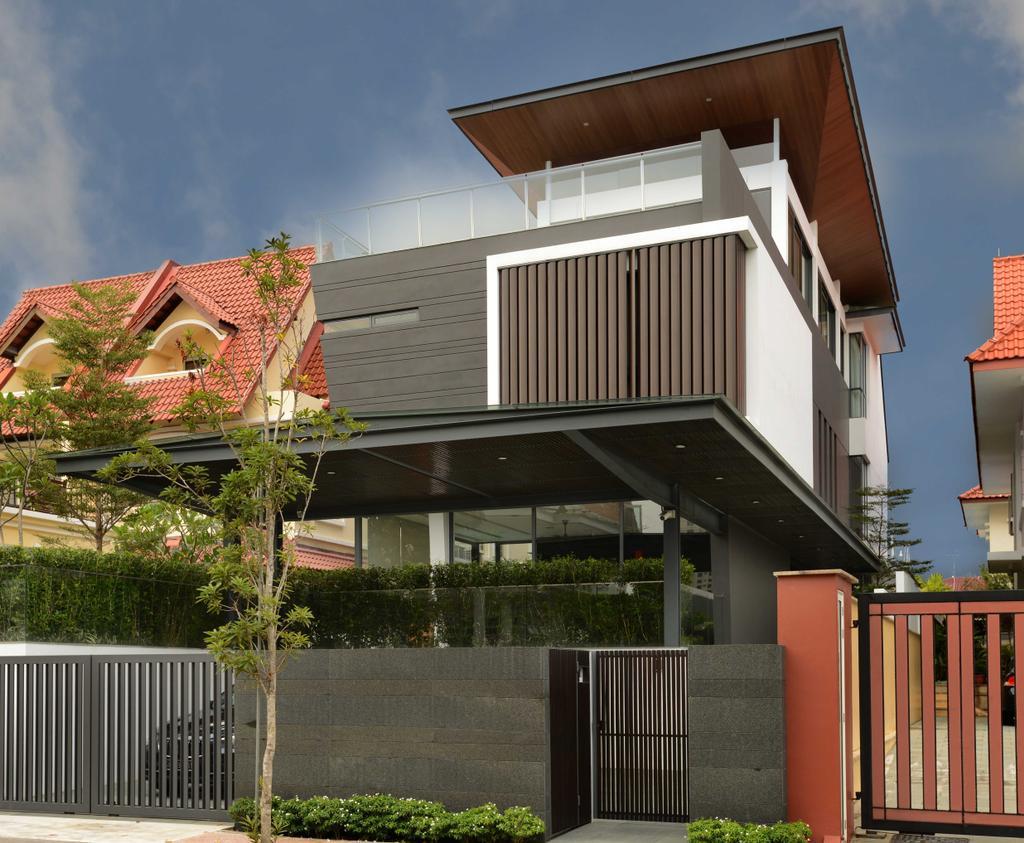 Modern, Landed, Wilkinson Road, Interior Designer, The Orange Cube, Bungalow, House, Roof, Tile Roof