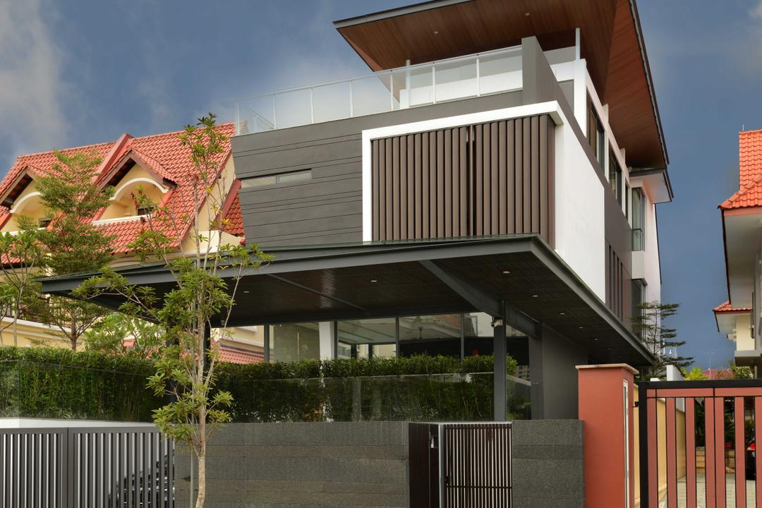 Wilkinson Road, The Orange Cube, Modern, Landed, Bungalow, House, Roof, Tile Roof