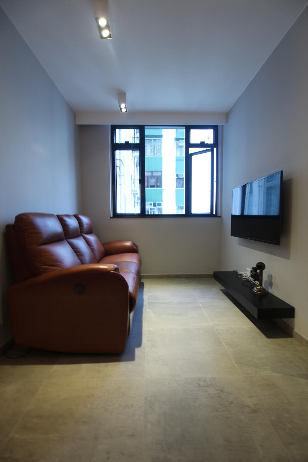 工業, 私家樓, 啟田大廈, 室內設計師, Koi Decoration & Design, Couch, Furniture