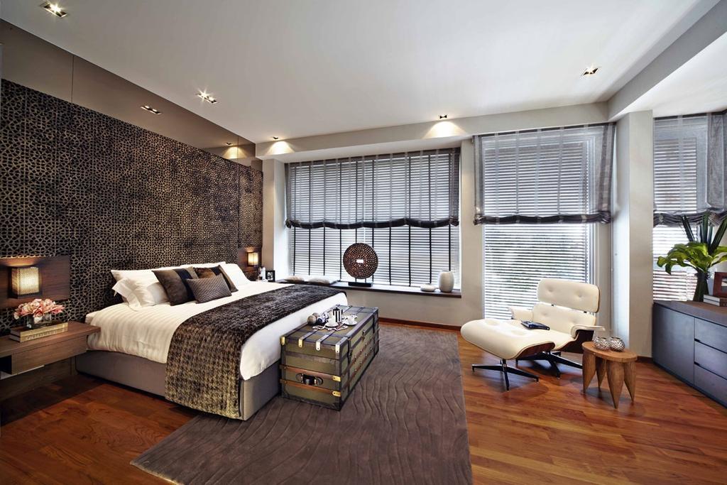 Contemporary, Landed, Bedroom, Wak Hassan Place, Interior Designer, Elements ID, Indoors, Interior Design, Room